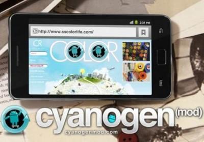 samsung galaxy s2 cyanogen