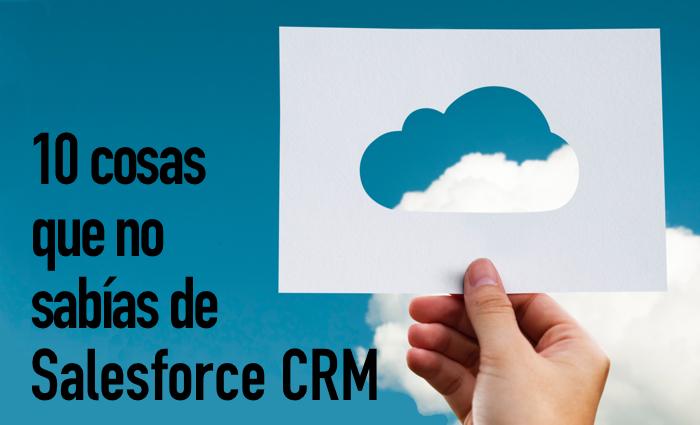 Salesforce CRM Cloud información