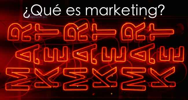 que es marketing