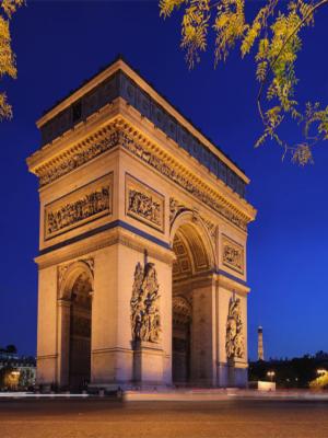 Arco de Triunfo de Paris foto