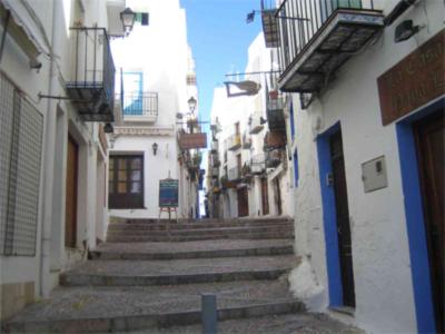 Foto de calles de Peñiscola