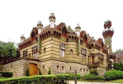 Foto del Capricho de Gaudí