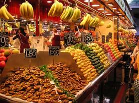 Foto del Mercado Modernista Boquería