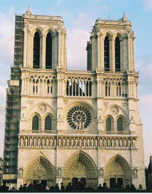 Notre Dame Paris Francia foto