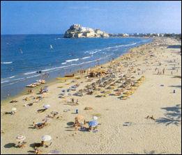 Playas de Peñiscola foto