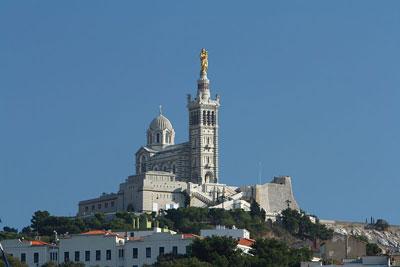 Basílica de Notre Dame de la Garde Foto