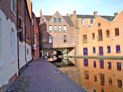Canales de Birmingham Foto