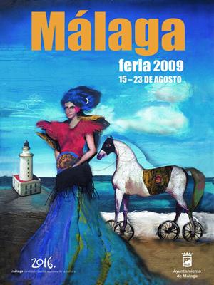 Cartel de la Feria año 2009
