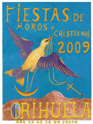 Cartel de la Fiesta año 2009