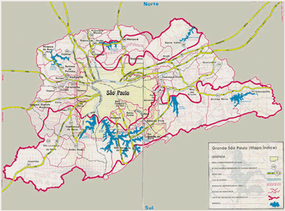 Mapa de San Pablo