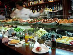 Restaurante en Barcelona Foto