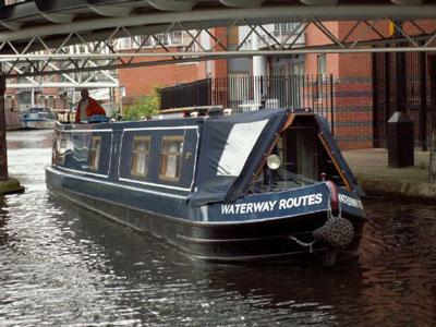 Sherborne Wharf Heritage Narrowboats Foto