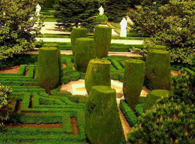 Jardines de Sabatini Foto