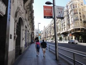 Calles de Madrid Foto 3